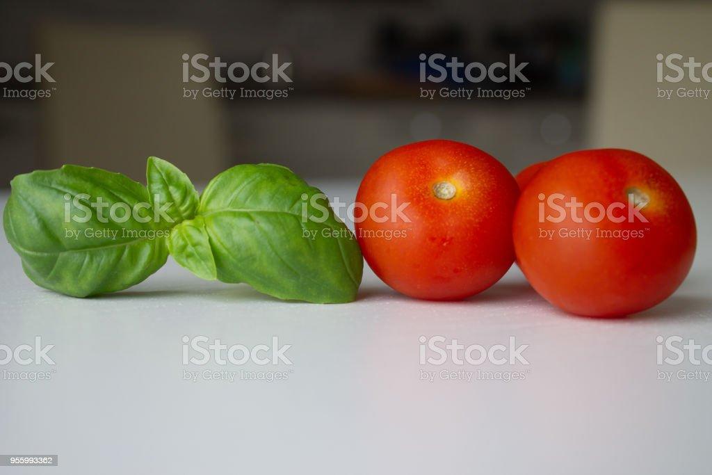 typical Ligurian ingredient stock photo