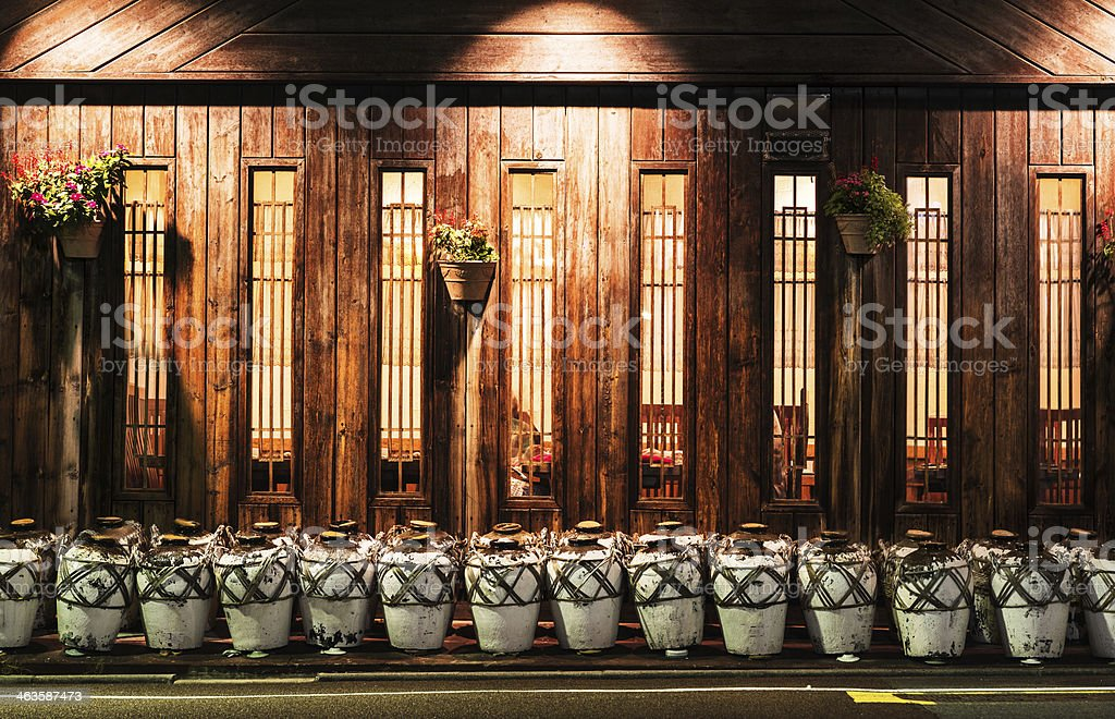 Typical Old Japanese Restaurant In Tokyo Japan Stock Photo Download Image Now Istock