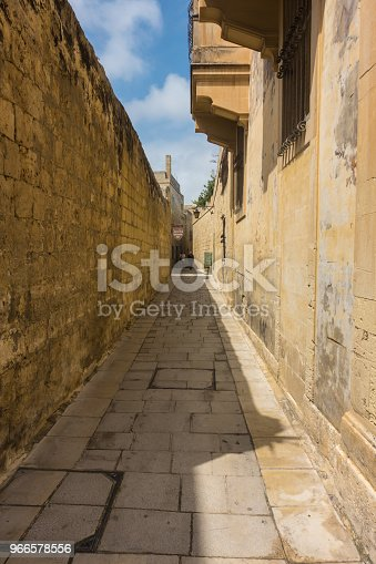 istock A typical paved street in Mdina, the old capital of Malta 966578556