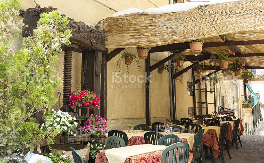typical restaurant stock photo
