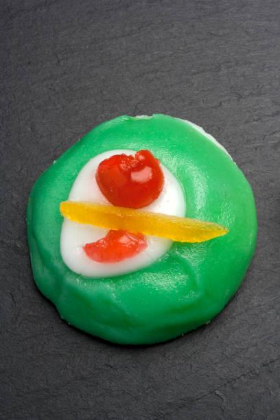 典型的西西里甜點: 卡薩塔 - cassata 個照片及圖片檔