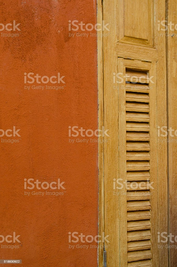 Typical southern building stock photo