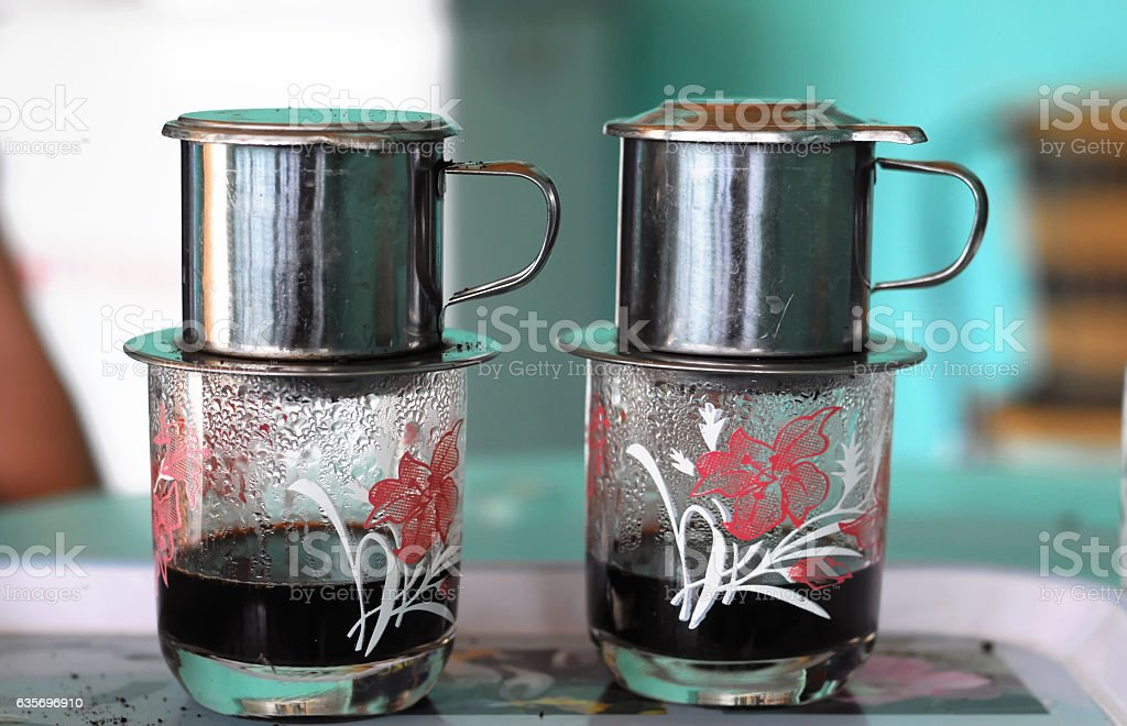 Typical Vietnam Coffee royalty-free stock photo