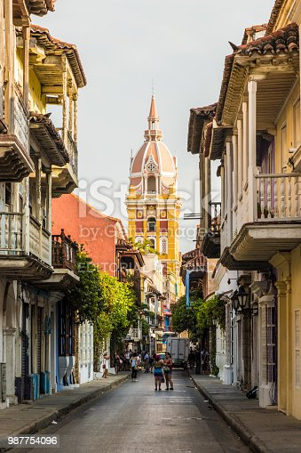 1148861090istockphoto A typical view in Cartagena colombia 987754096
