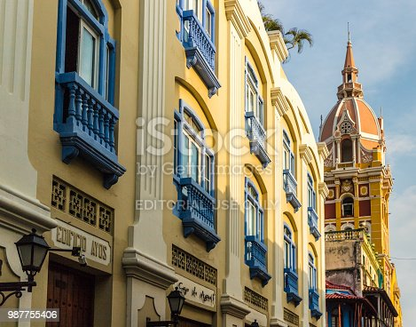 1148861090istockphoto A typical view in Cartagena colombia 987755406