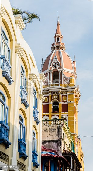 1148861090istockphoto A typical view in Cartagena colombia 987762150