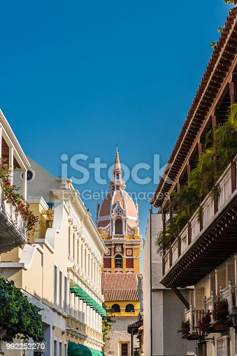 1148861090istockphoto A typical view of Cartagena Colombia. 992252270