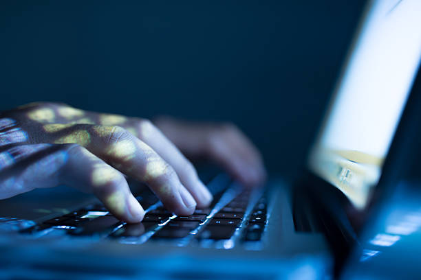 typing - hacker stock photos and pictures
