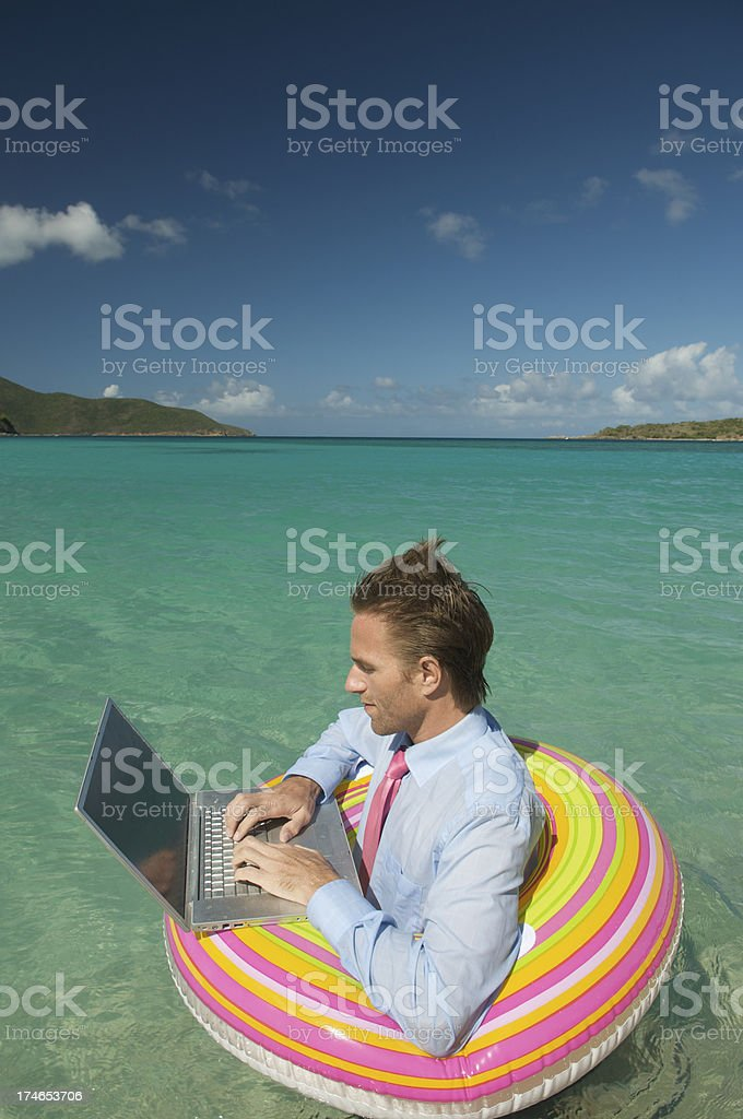 Typing Pool royalty-free stock photo