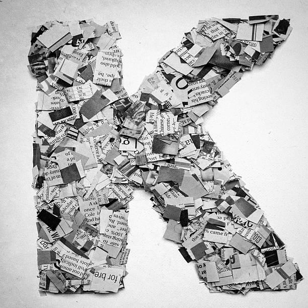 typografie, - kollagenblätter stock-fotos und bilder