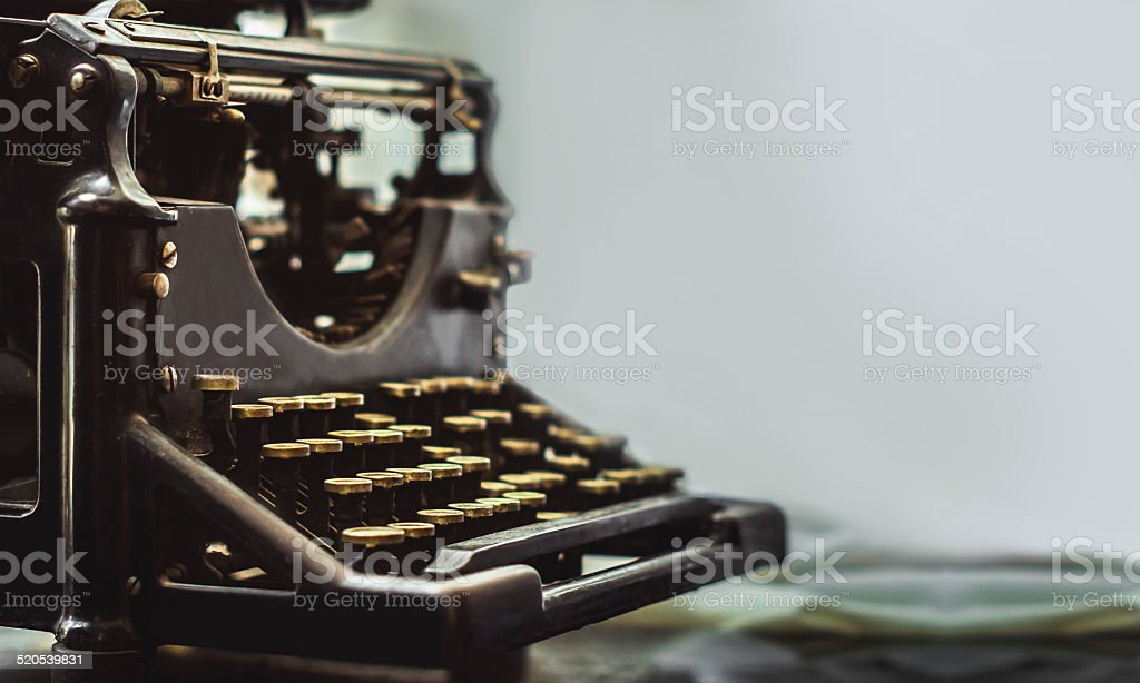 typwriter stock photo