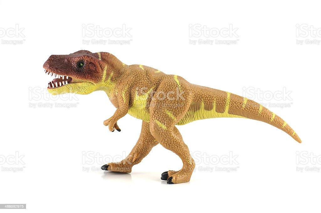 Tiranossauro dinossauros toy - foto de acervo