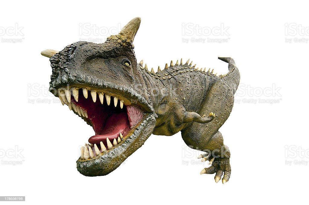 Tyrannosaurus Rex dinosaur stock photo