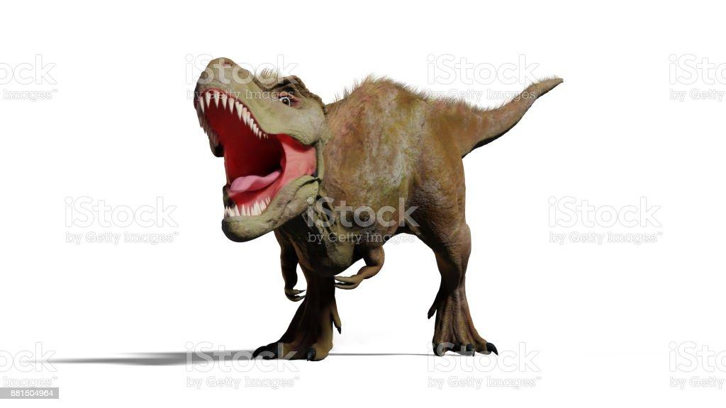 Tyrannosaurus Rex Roaring Trex Dinosaur Stock Photo & More Pictures ...
