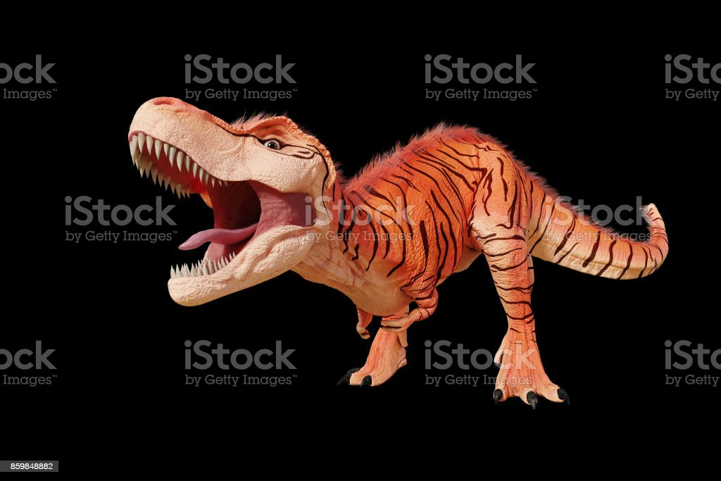 Tyrannosaurus Rex With Natural Camouflage Trex Dinosaur From The ...