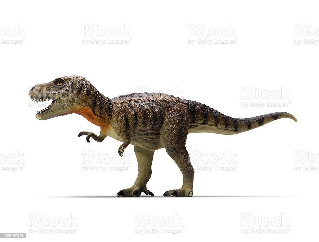 tyrannosaurus-rex (clipping path) stock photo
