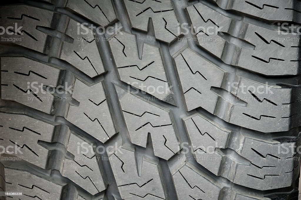 Tyre detail royalty-free stock photo