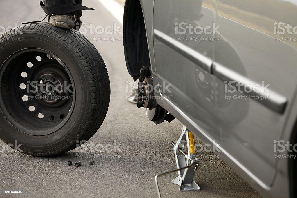 Tyre stock photo