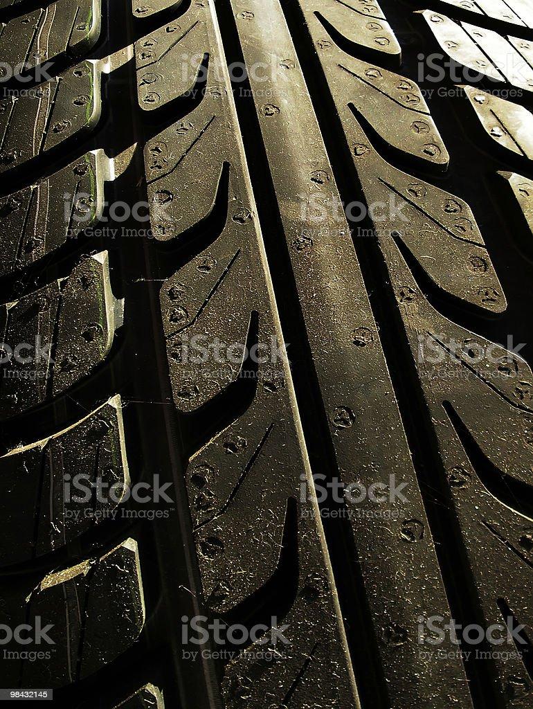 Tyre royalty-free stock photo