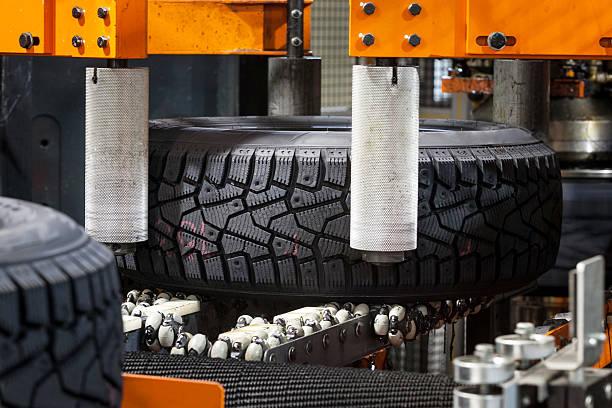 Reifen Produktion Maschine Boot – Foto