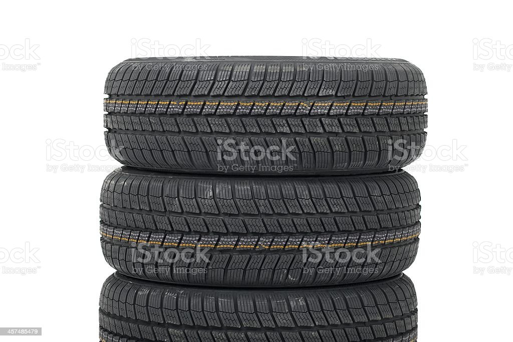 Tyre sets royalty-free stock photo