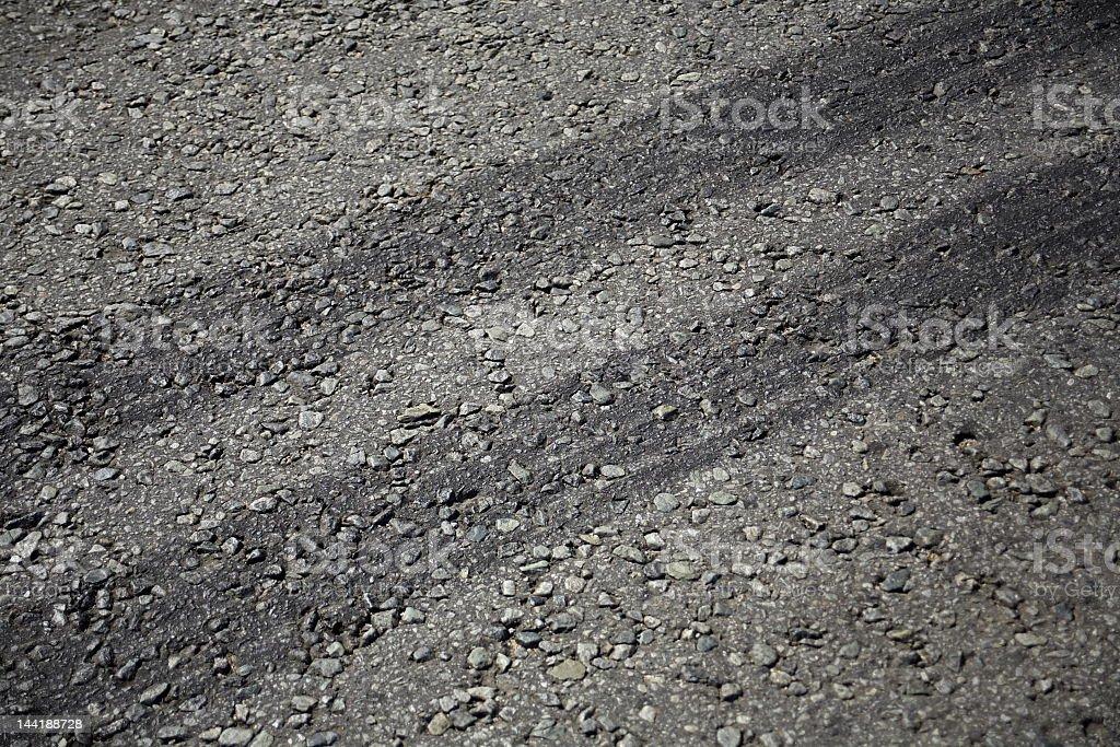 Tyre Tracks royalty-free stock photo