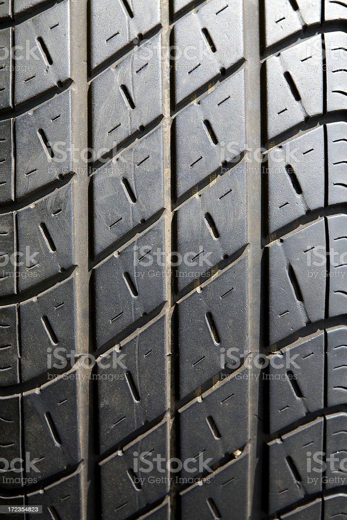 Rodadura de los neumáticos foto de stock libre de derechos