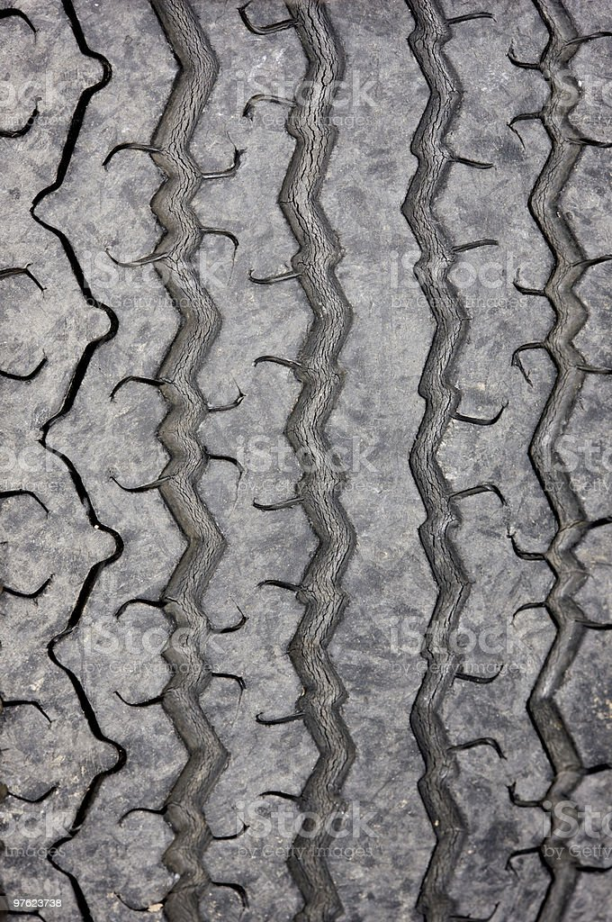 Tyre tread royalty-free stock photo