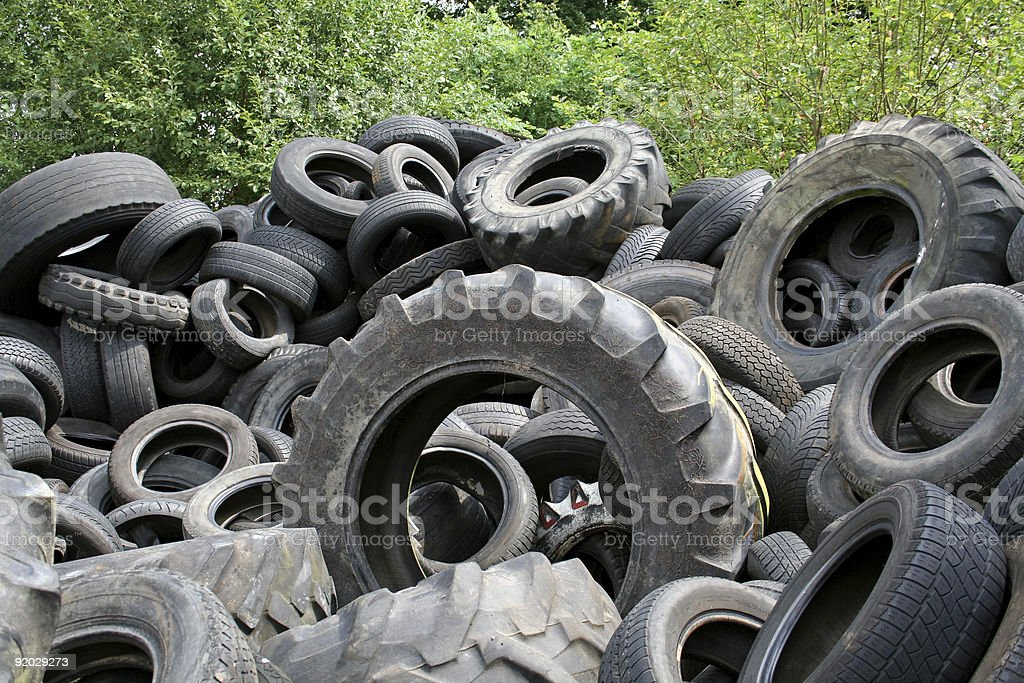 tyres royalty-free stock photo