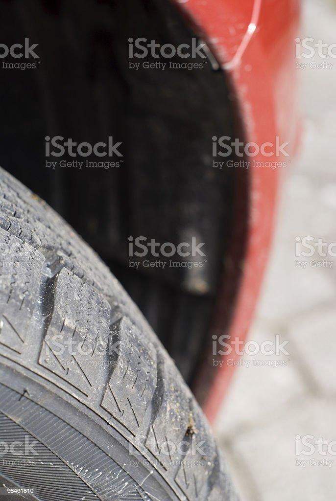 타이어 royalty-free 스톡 사진