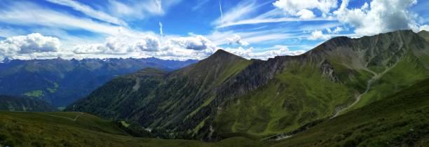 tyrol-panorama - fiss tirol stock-fotos und bilder