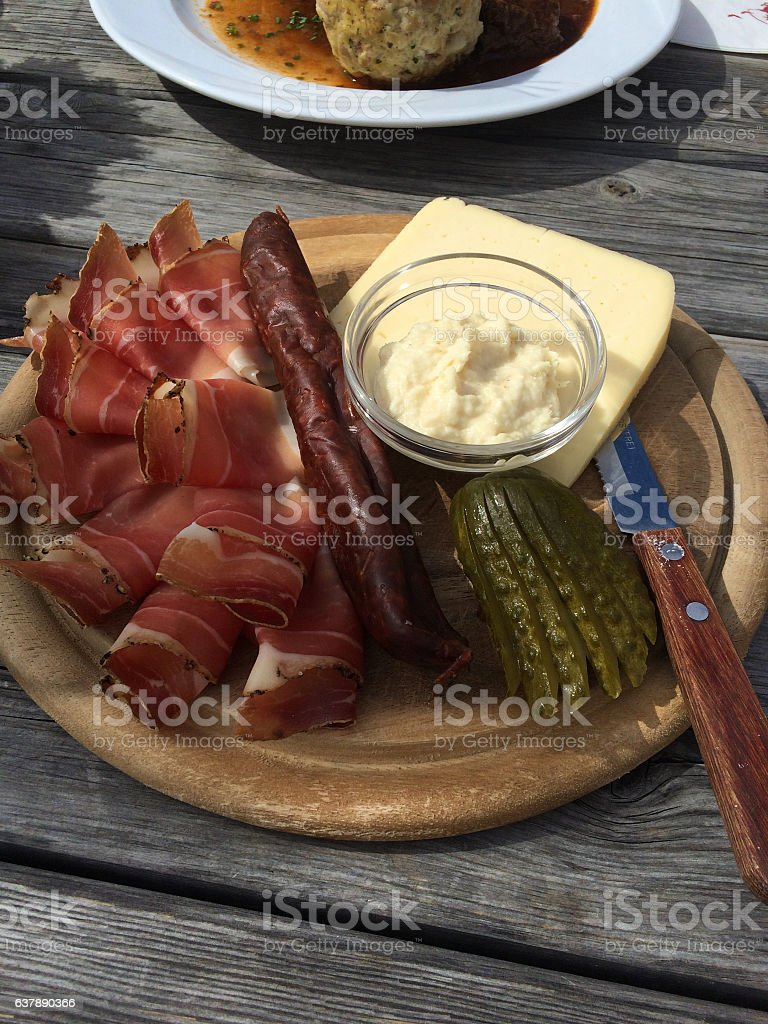 Tyrolean mixed cold platter – Foto