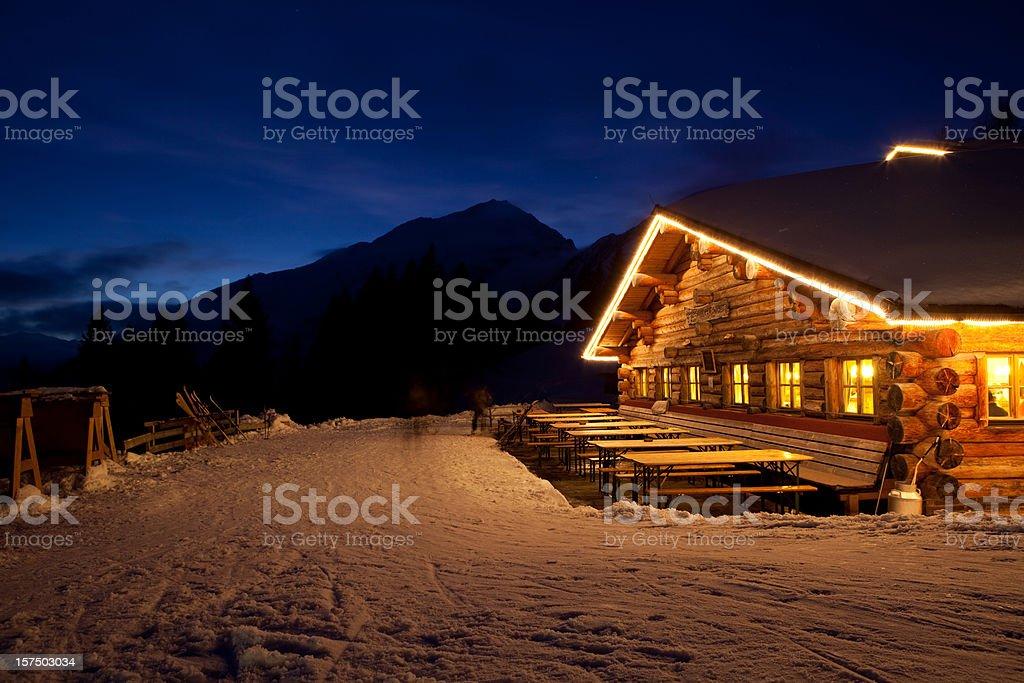 Tiroler winter hut – Foto