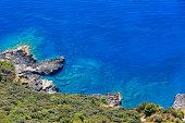 Tyrrhenian sea coast, Italy