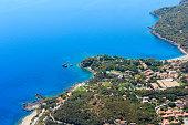 Tyrrhenian sea coast, Maratea, Italy