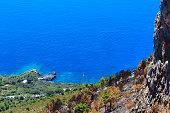 Tyrrhenian sea coast near Maratea, Italy