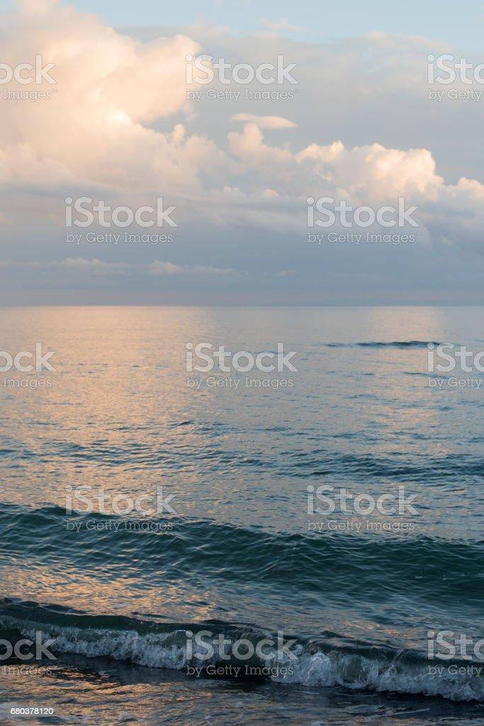 Tyrrhenian Sea, Tuscany, Italy stock photo