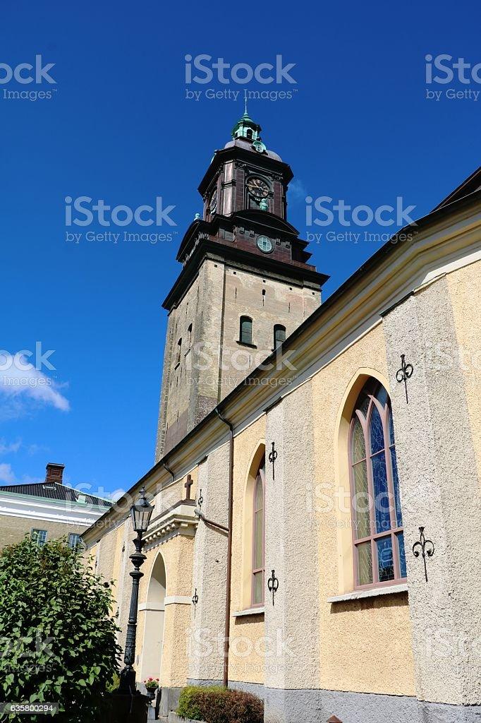 Tyska kyrkan in Gothenburg, Sweden Scandinavia stock photo