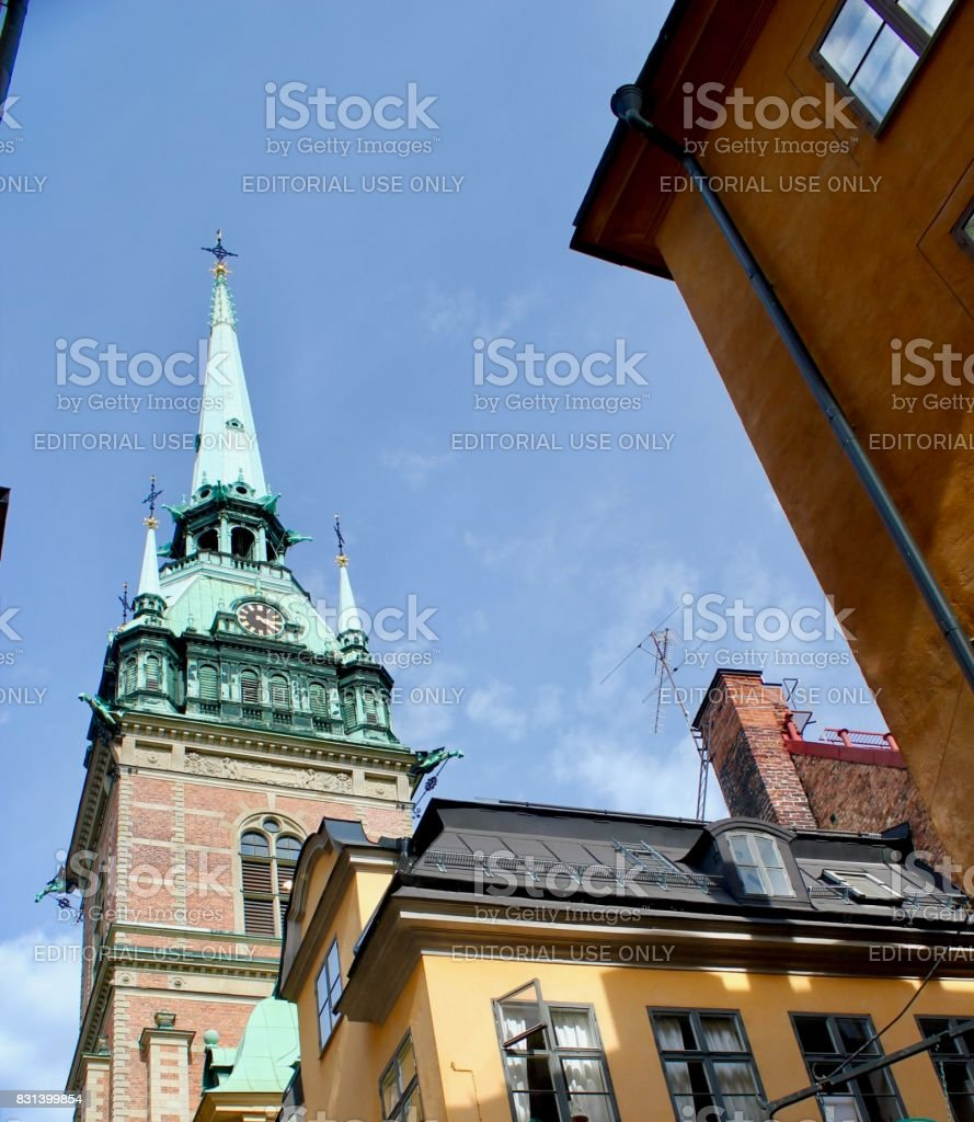 Tyska Kyrkan stock photo