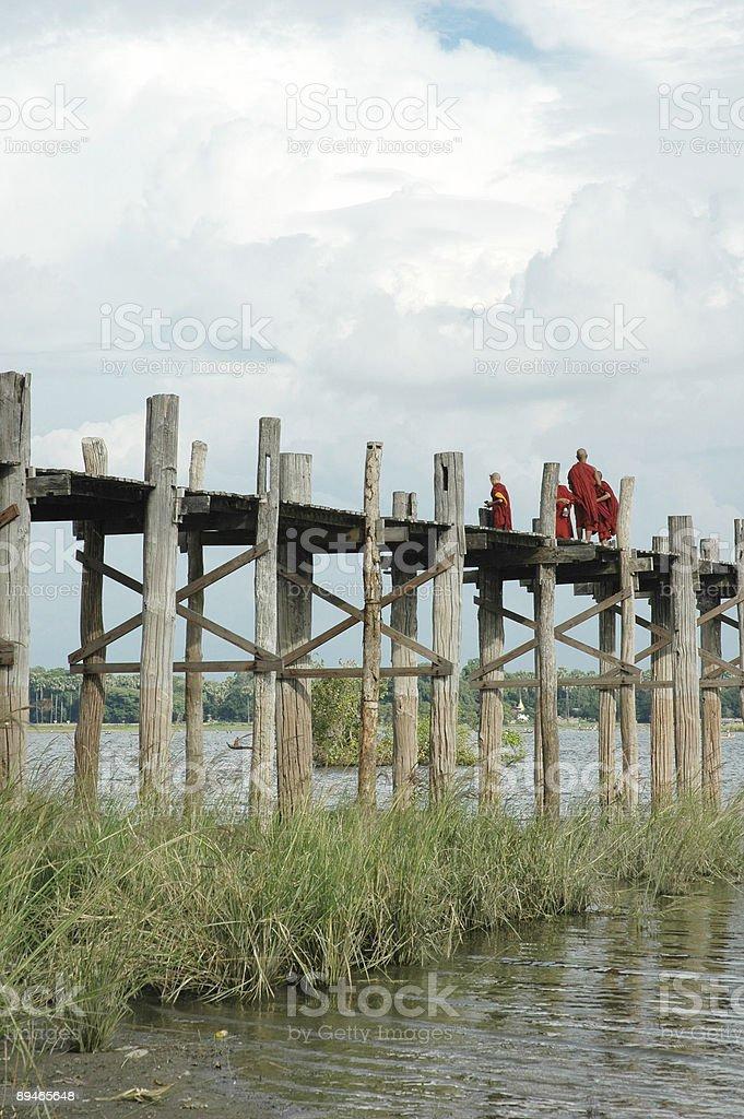 u bein bridge royalty-free stock photo