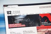 istock U2.com Internet Web Page 458679163