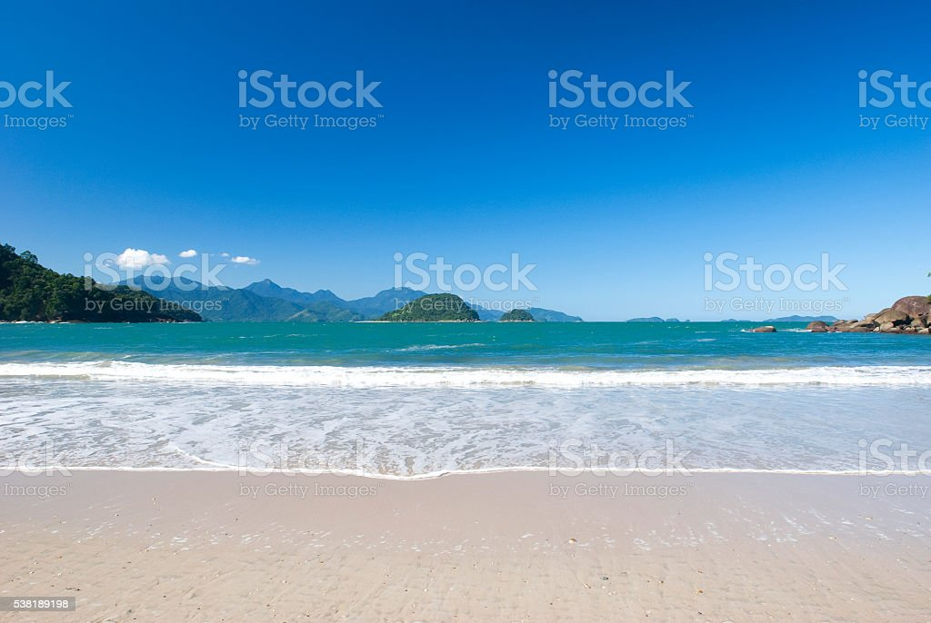 Ubatuba stock photo
