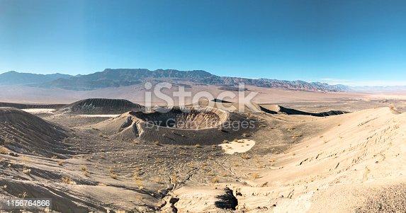Ubehebe Crater, Death Valley Desert, California.