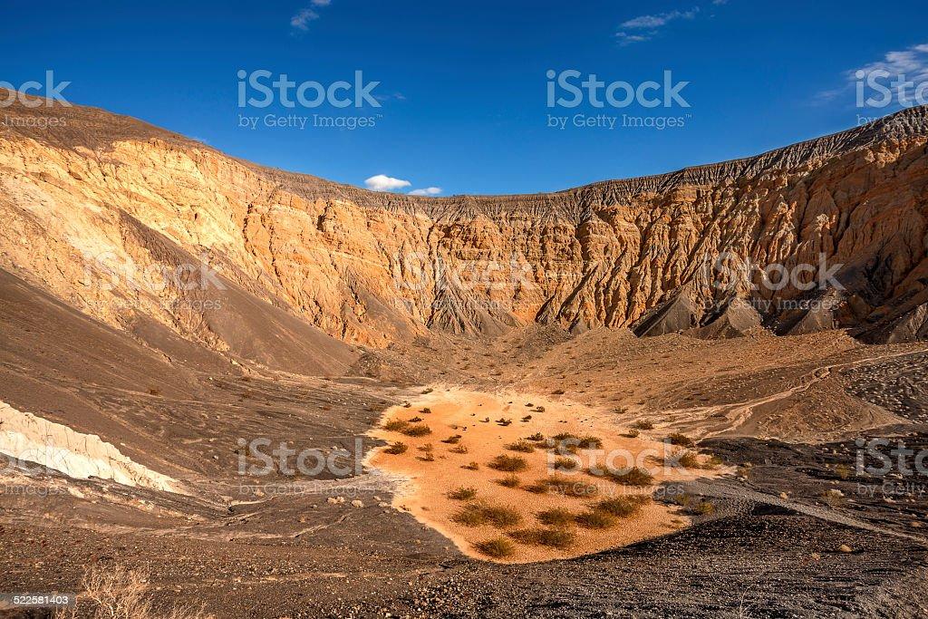 Ubehebe Crater stock photo
