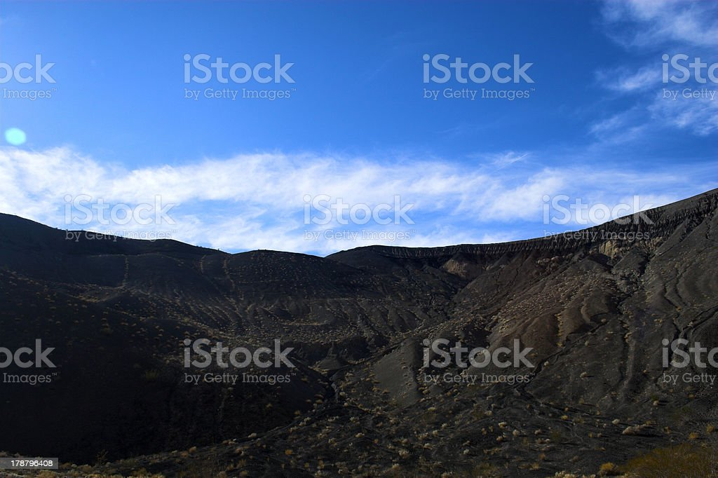 Ubehebe Volcano royalty-free stock photo