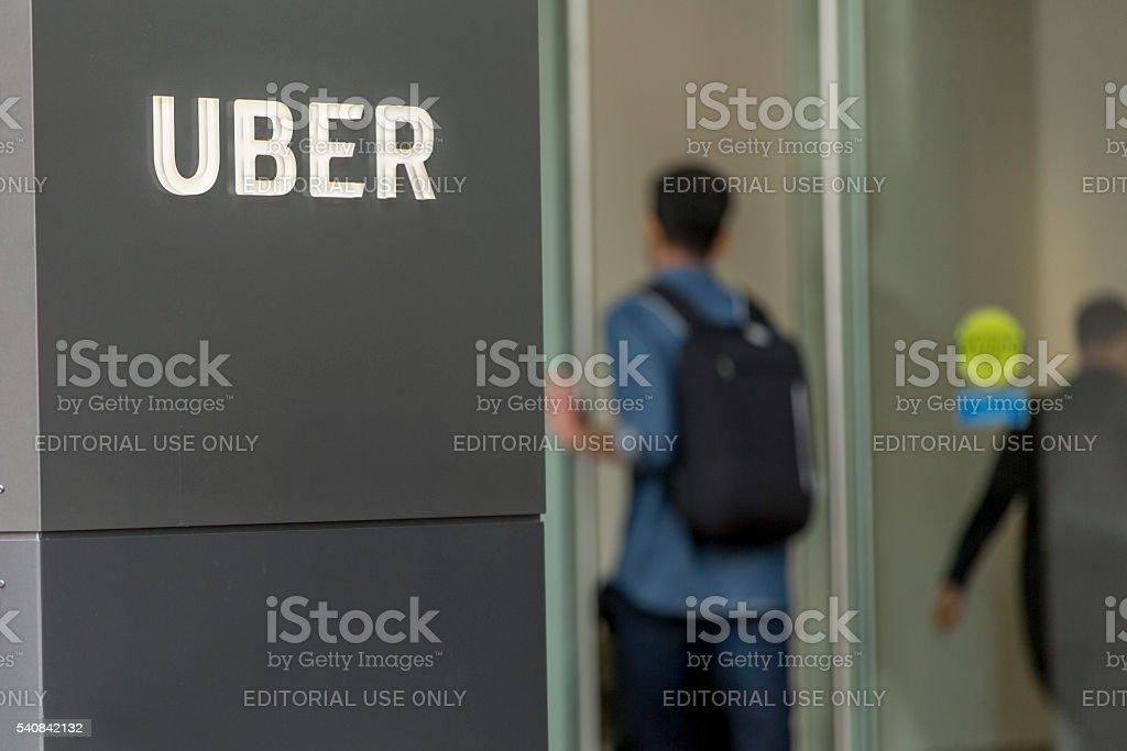 Uber Headquarters stock photo