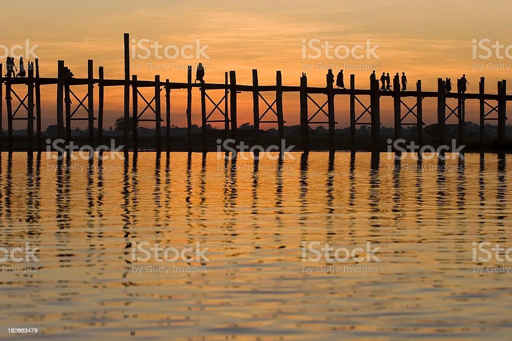 Ubien bridge royalty-free stock photo