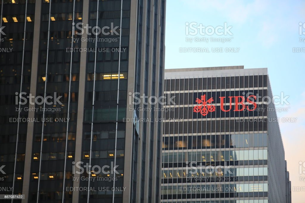 ubs investment bank address new york