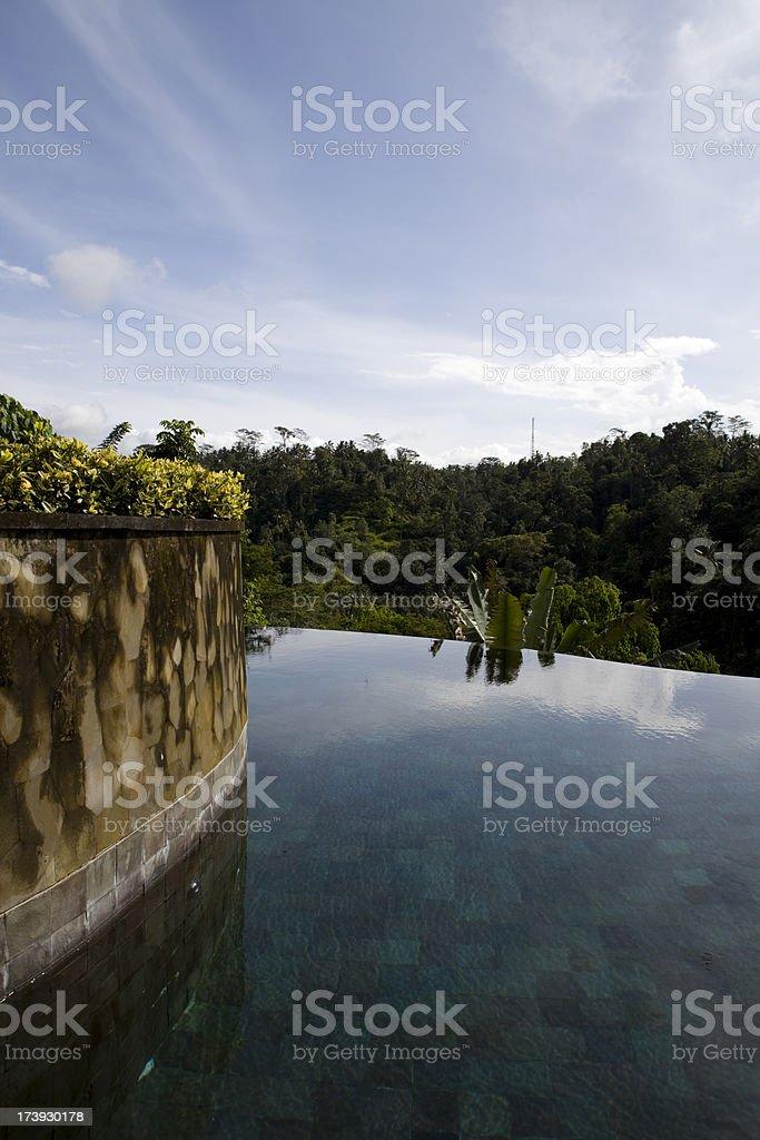 Ubud Pool stock photo