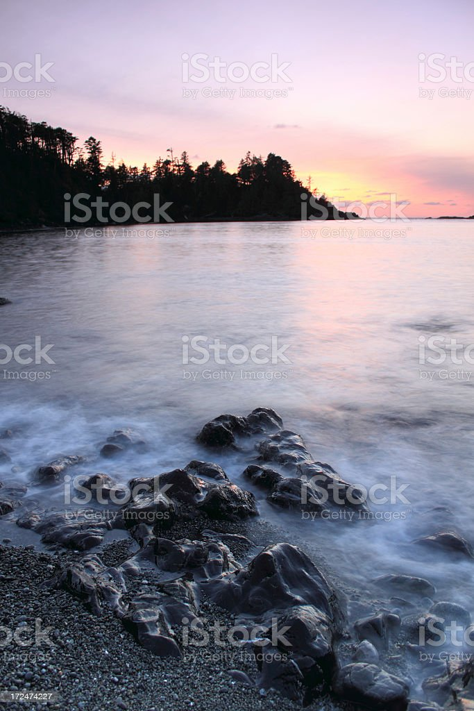 Ucluelet, British Columbia stock photo